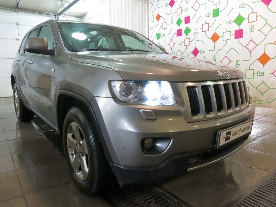 Отключение EGR и сажевого Jeep Grand Cherokee 3.0 CRD 2012