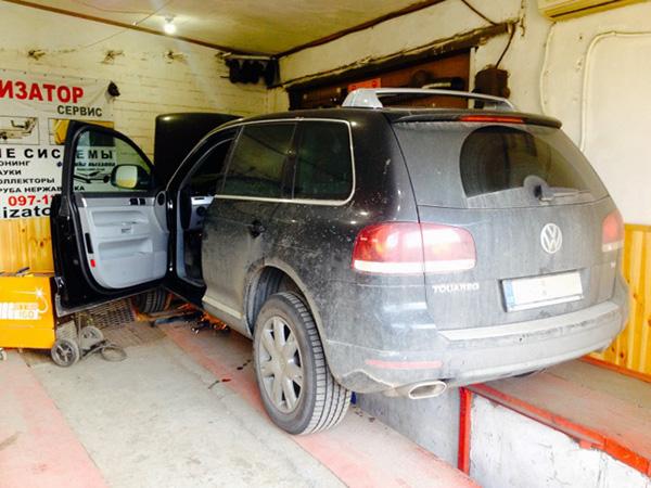 Отключить сажевый фильтр удалить Volkswagen Touareg 2.5 TDI