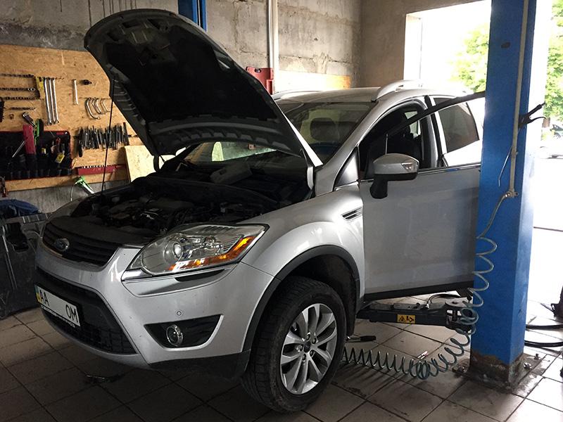 Удаление и отключение сажевого Ford Kuga 2.0 TDCI 2012