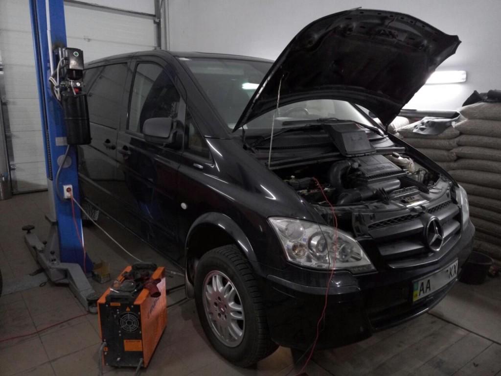 Удаление-сажевого-и-катализатор-отключение-EGR-на-Mercedes-Vito-2012
