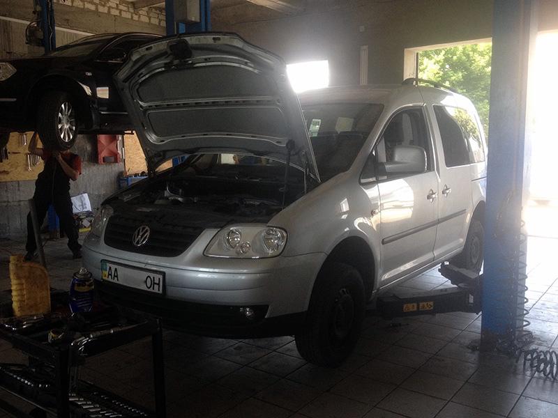 Удалить-сажевый-и-отключить-EGR-Volkswagen-Caddy-1.9-TDI-2009