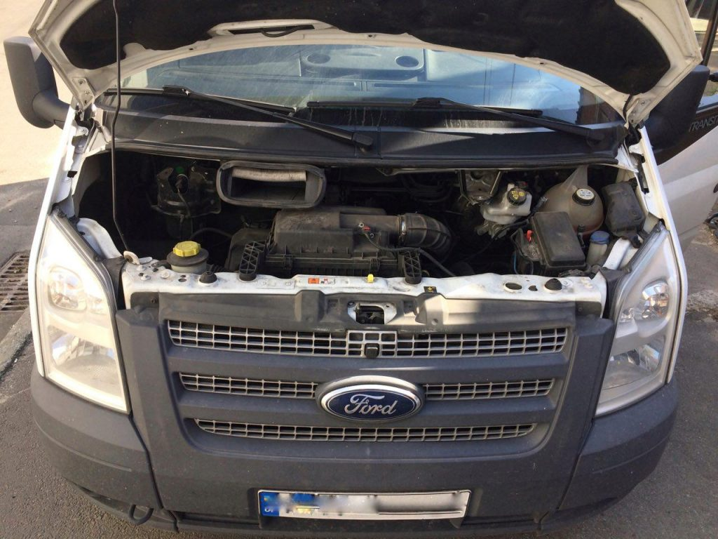 Сажа, отключение на Форд Транзит 2,2 TDCI SID208 2012