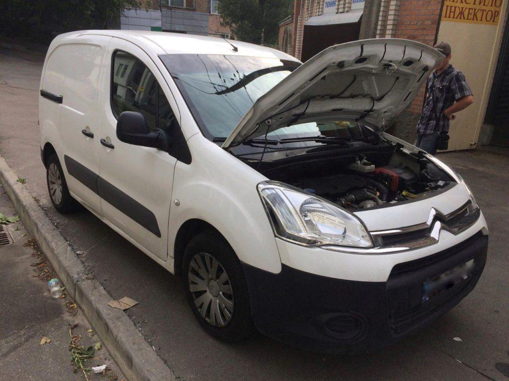 Удаление сажевого Citroën Berlingo 1.6 HDI 2013