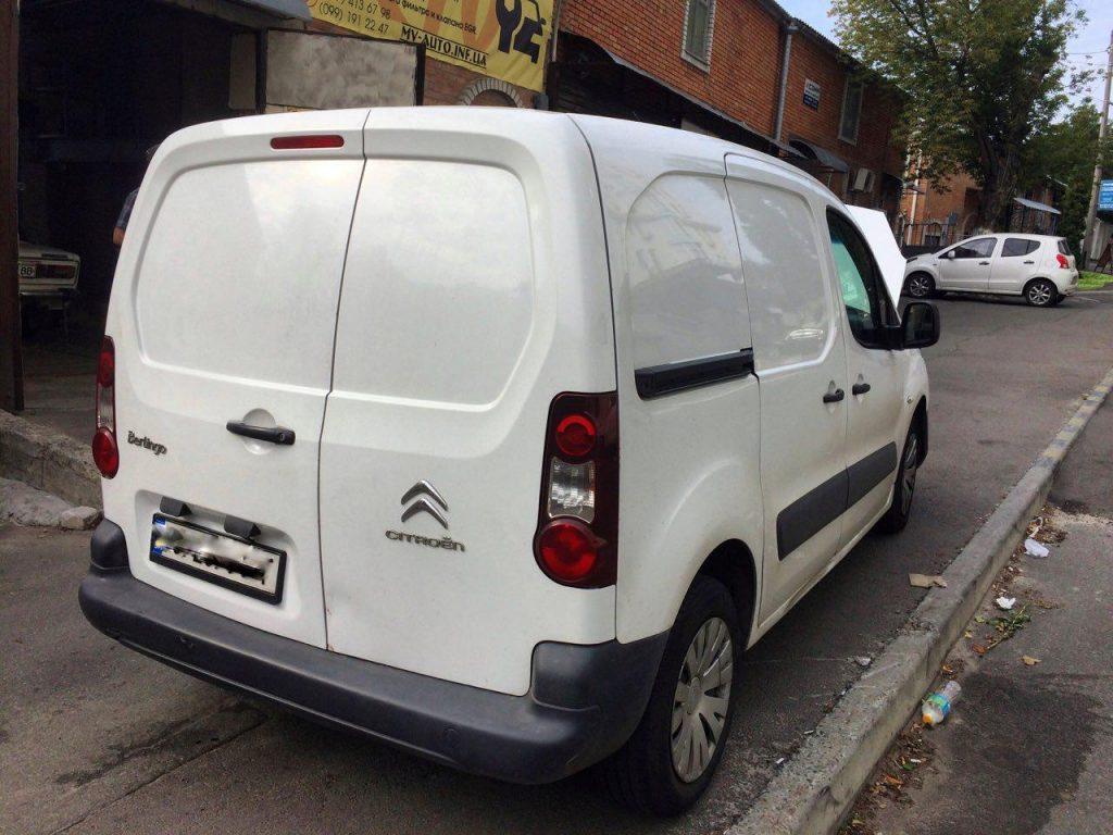 Удаление клапана EGR Citroën Berlingo 1.6 HDI 2013