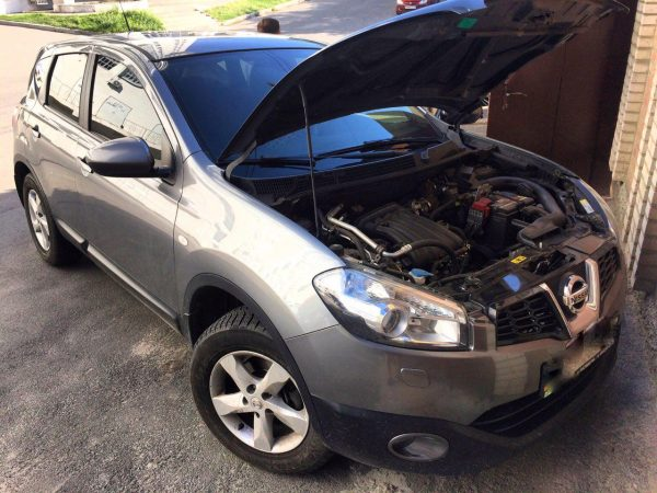 Чип-тюнинг Nissan Qashqai 1,6 ГБО