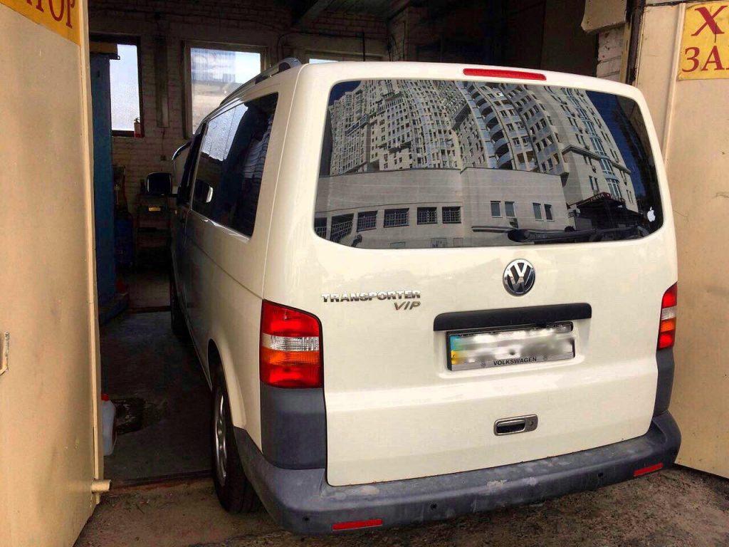ЕГР и сажевый фильтр отключить Volkswagen T5 2.5 TDI 2009