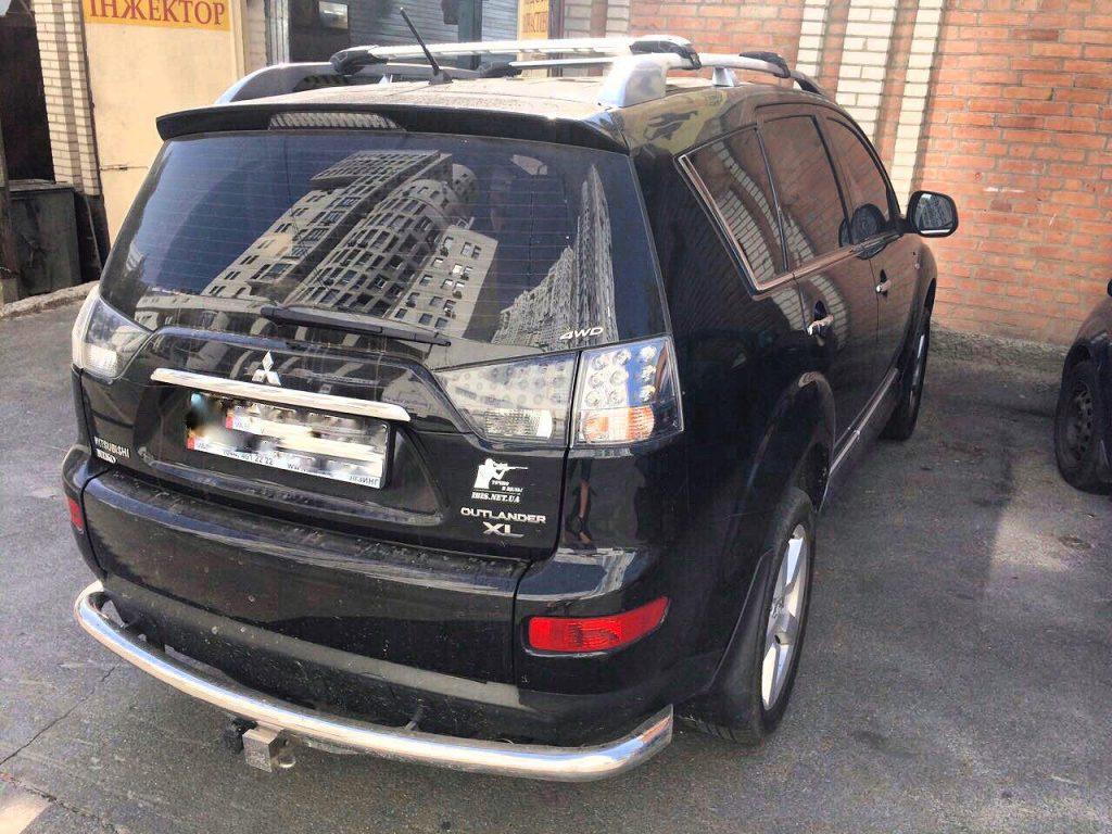 Отключить второй лямбда-зонд на Mitsubishi Outlander XL 3.0 2009