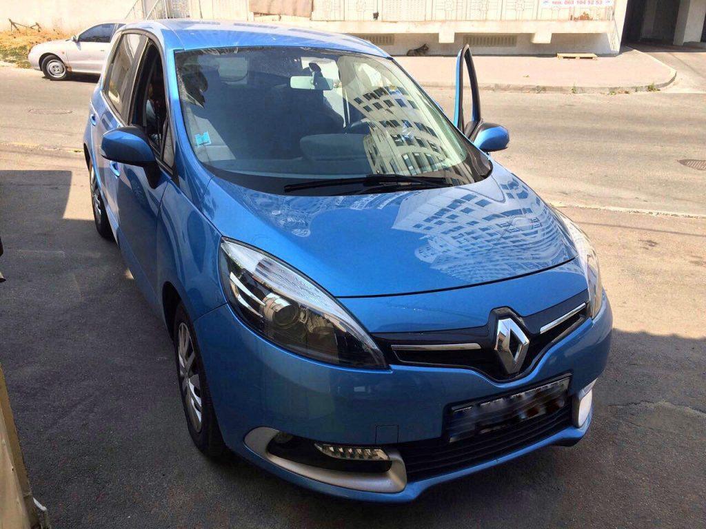 Сажевый фильтр удаление Renault Scenic  1.5 dCi 2012