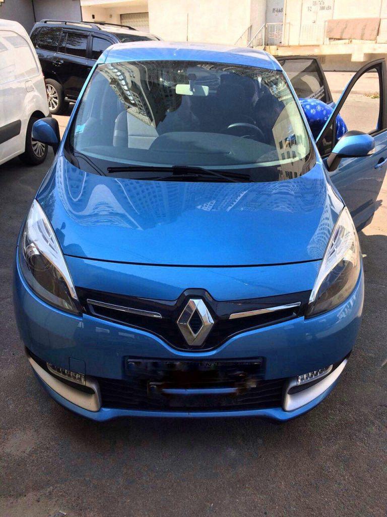 Удаление сажевика на Renault Scenic