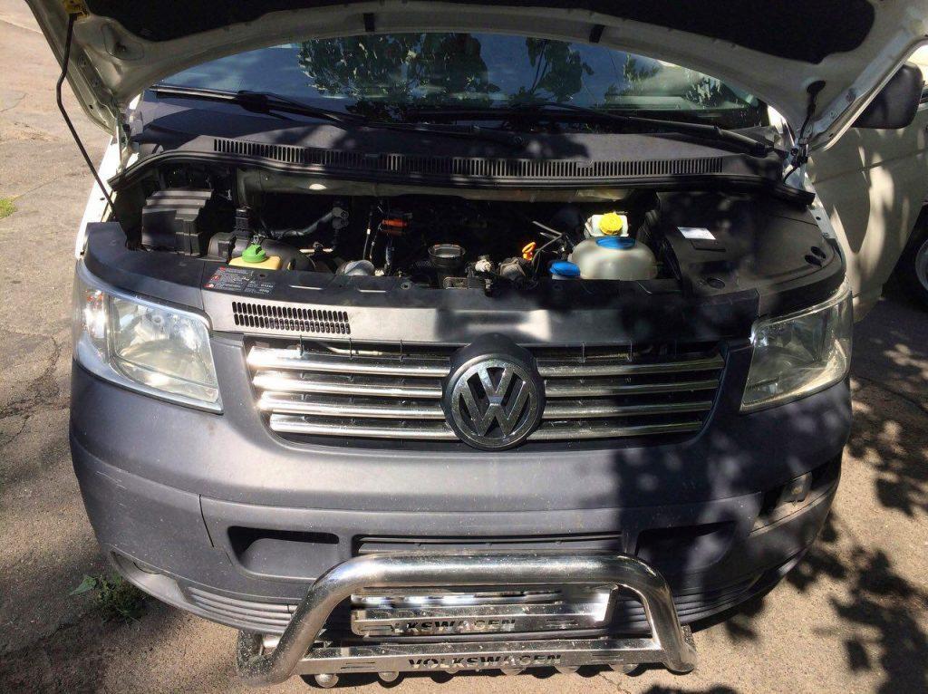 Сажевый фильтр отключение Volkswagen T5 2.5