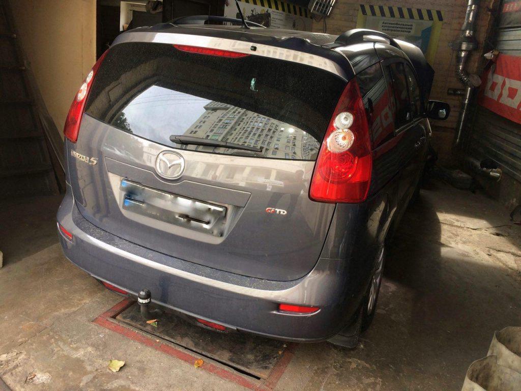 Отключение ЕГР, удаление ЕГР, отключение сажевого на Mazda 5 2.0 CiTD