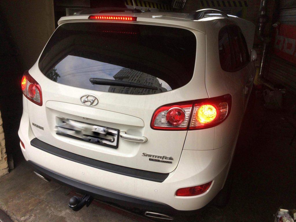 Отключение сажевого фильтра и Чип-тюнинг Hyundai Santafe CRDi