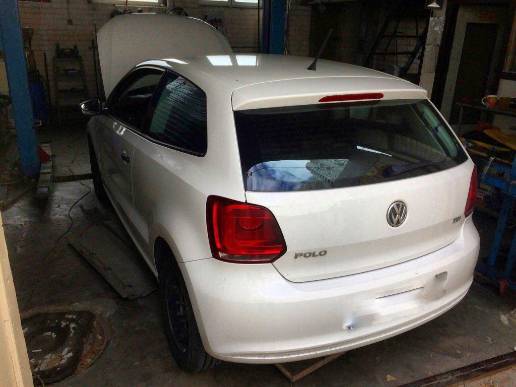 Volkswagen Polo 1.2 TDI 2012 Delphi DCM 3.7 заглушить клапан ЕГР