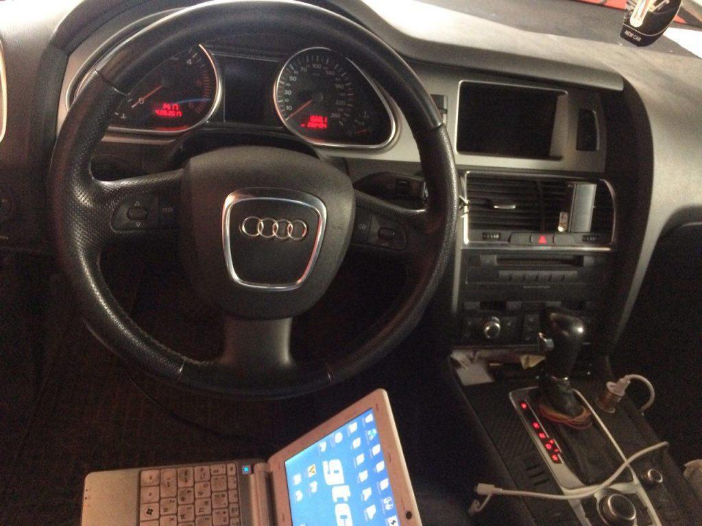Удаление сажевого фильтра Audi Q7 3.0 TDI