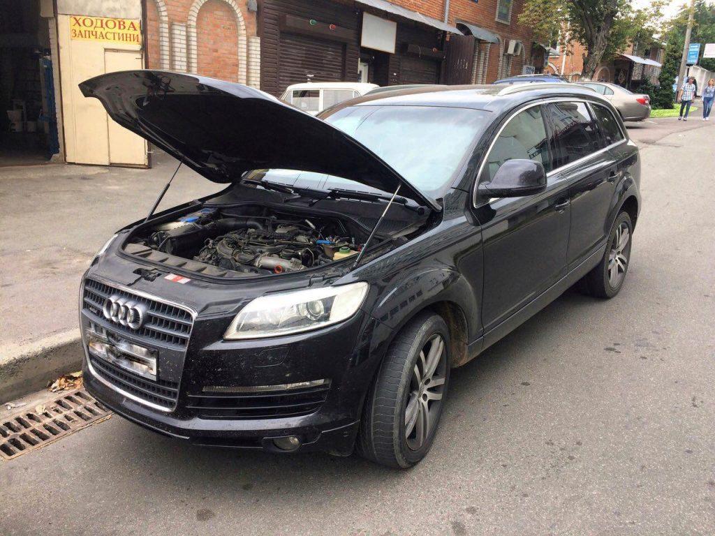 Отключение вихревых заслонок Audi Q7 3.0 TDI
