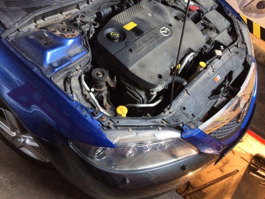 Mazda 6 2.0 Di 2006 отключить сажевый фильтр, удалить сажевый фильтр