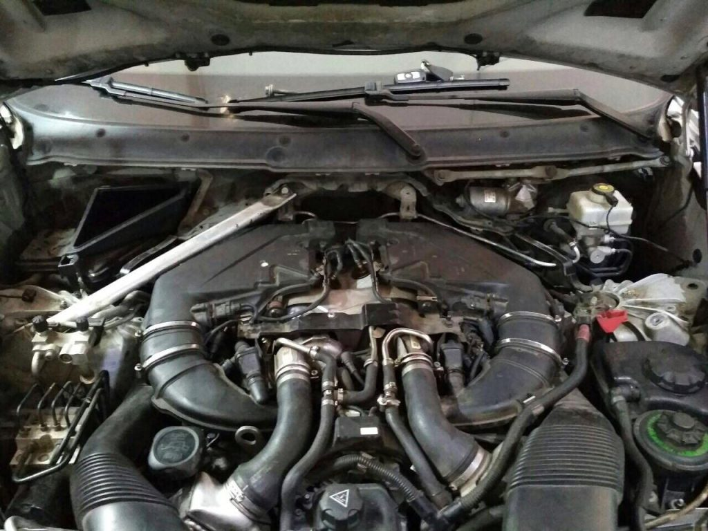 Удаление и отключение катализатора BMW X6 4.4 BiTurbo 2008 отключить и удалить катализатор