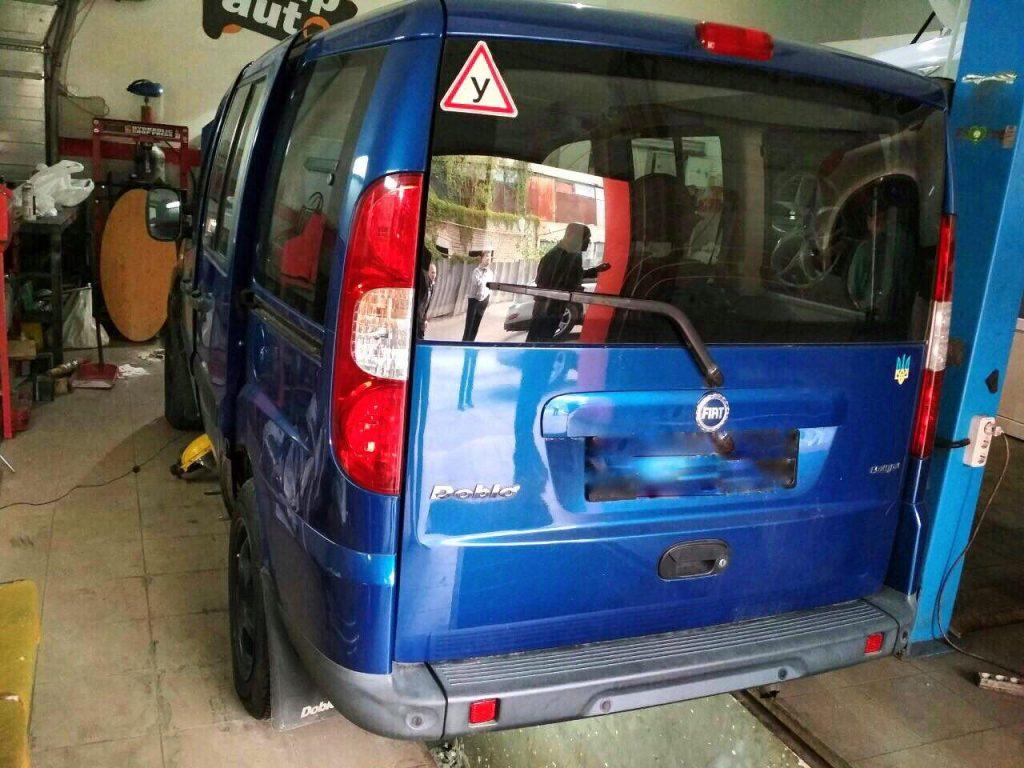 Отключение сажевого фильтра, удаление сажи Fiat Doblo 1.9 MultiJet 2006