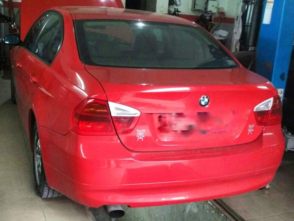 Отключить катализаторы и удалить катализаторы на BMW E90 2.0 2005