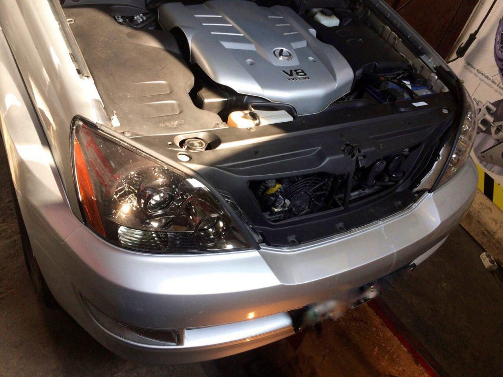 Чип-тюнинг, удаление катализаторов и отключение 2-ого лямбда-зонда на Lexus GX 470 4.7 2008