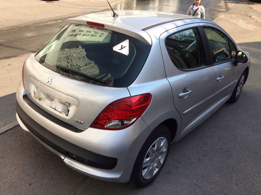Удаление и отключение сажевого фильтра на Peugeot 207 1.4 HDi 2011
