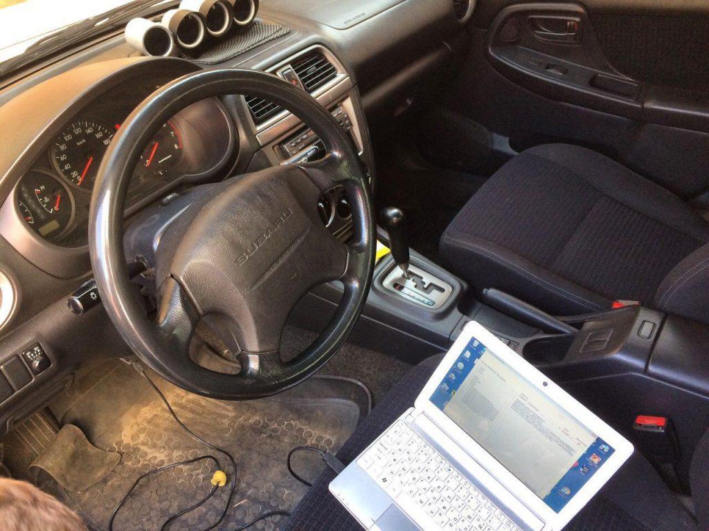 Диагностика и отключение катализатора Subaru Impreza 1.6 2006
