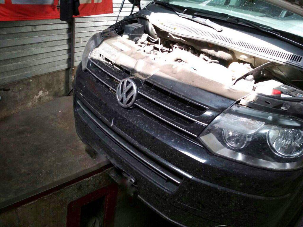 Сажевый фильтр отключение Volkswagen T5 2.0 TDI 2011