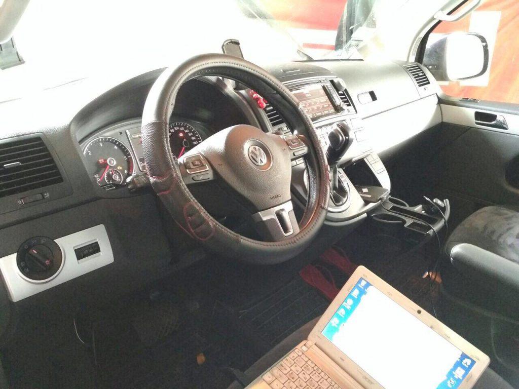 Программное отключение сажевого фильтра на Volkswagen T5 2.0 TDI 2011