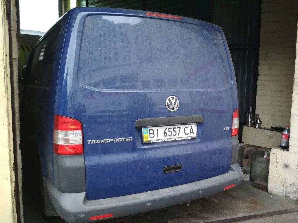 Отключить ЕГР и сажевый Volkswagen T5 2.0 TDI 2012