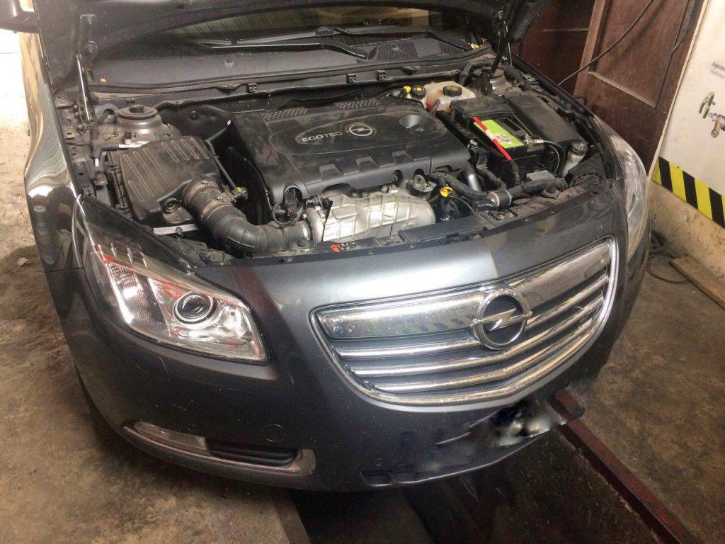 Отключить сажевый фильтр Opel Insignia 2.0 CDTI 2012