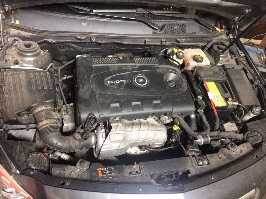 Сажевый фильтр отключить на Opel Insignia 2.0 CDTI 2012
