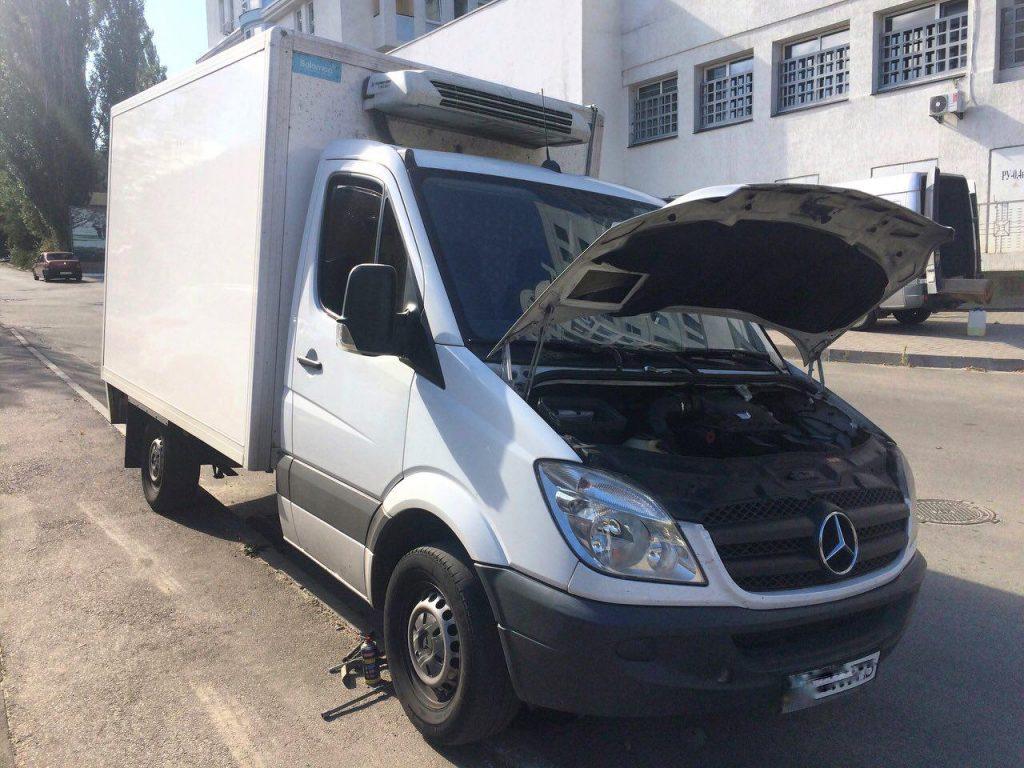 Сажевый фильтр отключение Mercedes-Benz Sprinter 2.2 CDI 2011, отключение клапана ЕГР