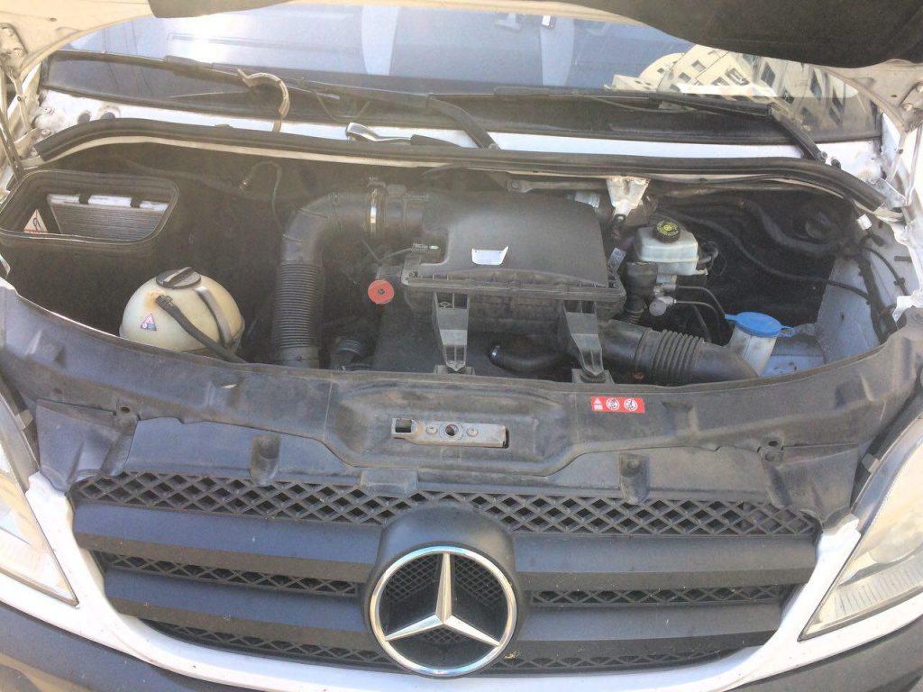 Сажевый фильтр и клапан ЕГР отключение Mercedes-Benz Sprinter 2.2 CDI 2011