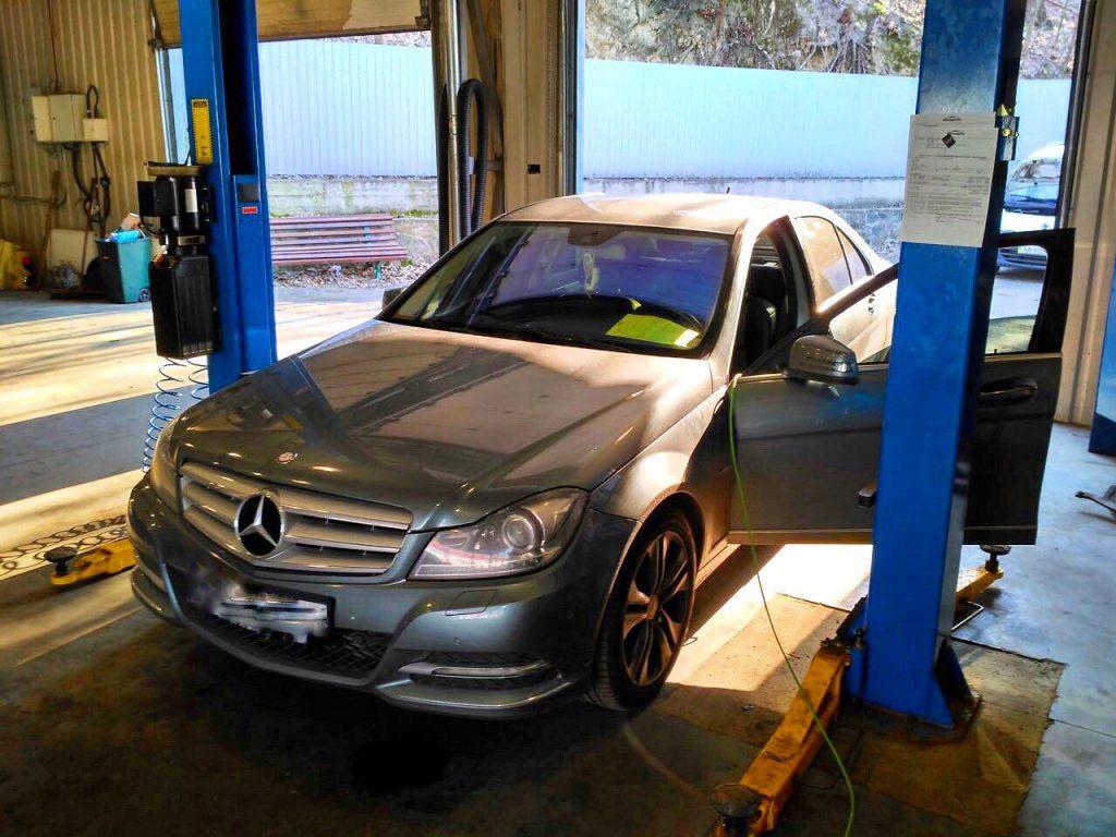 Отключить сажевый фильтр Mercedes-Benz 2.2 CDI 2012, чип-тюнинг