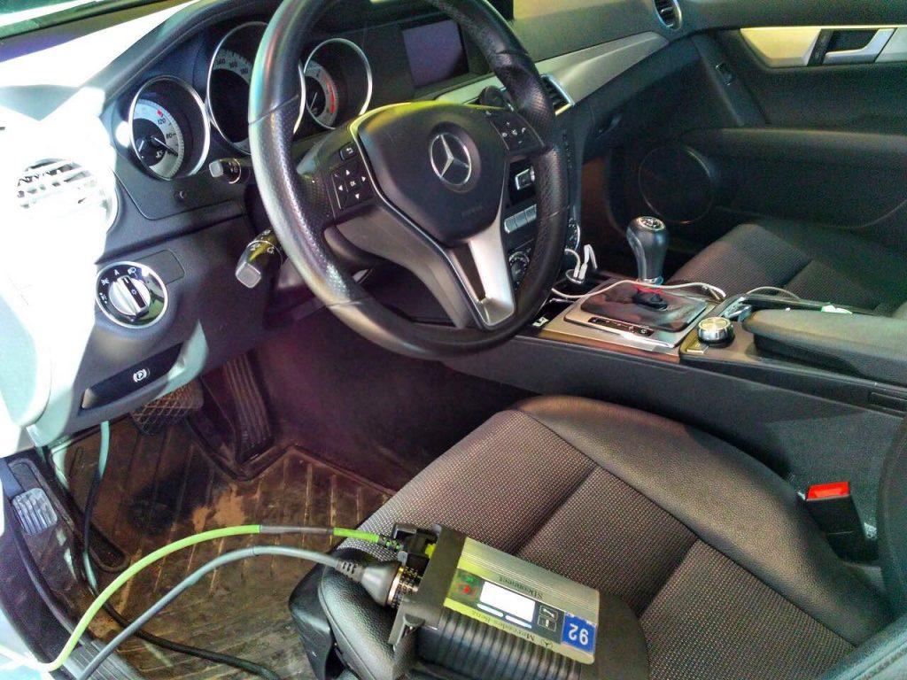 Чип-тюнинг, отключение сажевого фильтра Mercedes-Benz 2.2 CDI 2012