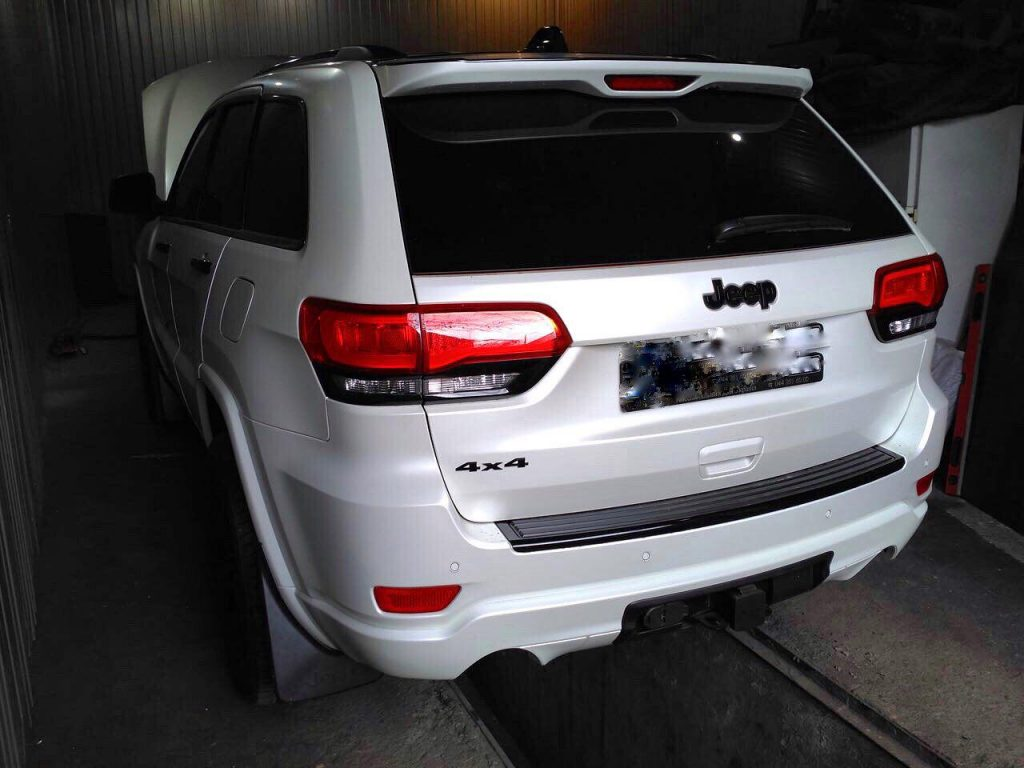 Отключить сажевый фильтр и клапан EGR на Jeep Grand Cherokee 3.0 CRD 2013