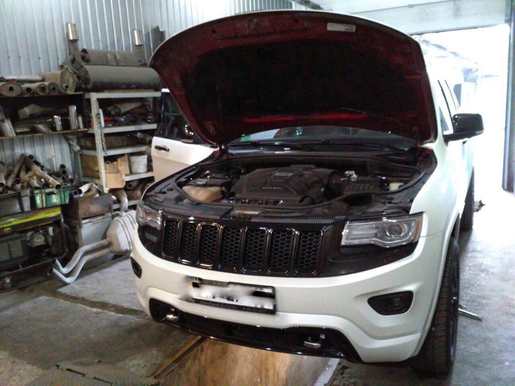 Отключение мочевины SCR ADblue и клапана ЕГР на Jeep Grand Cherokee 3.0 CRD 2013