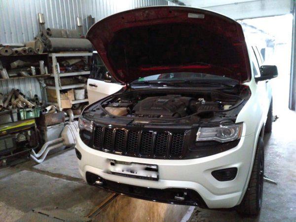 Отключение и удаление мочевины SCR ADblue и сажевого фильтра, отключение EGR на Jeep Grand Cherokee 3.0 CRD 2013