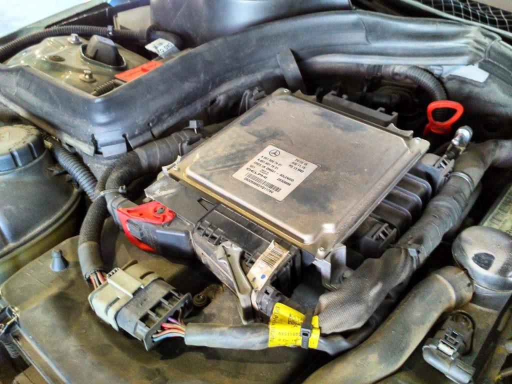 Чип-тюнинг и отключение сажевого фильтра Mercedes-Benz 2.2 CDI 2012