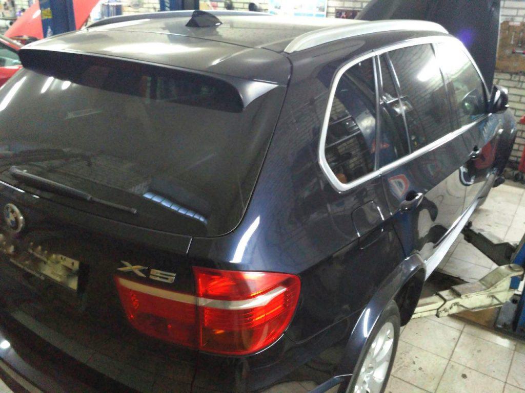 Удалить катализатор BMW X5 e70 3.0 sd 2008