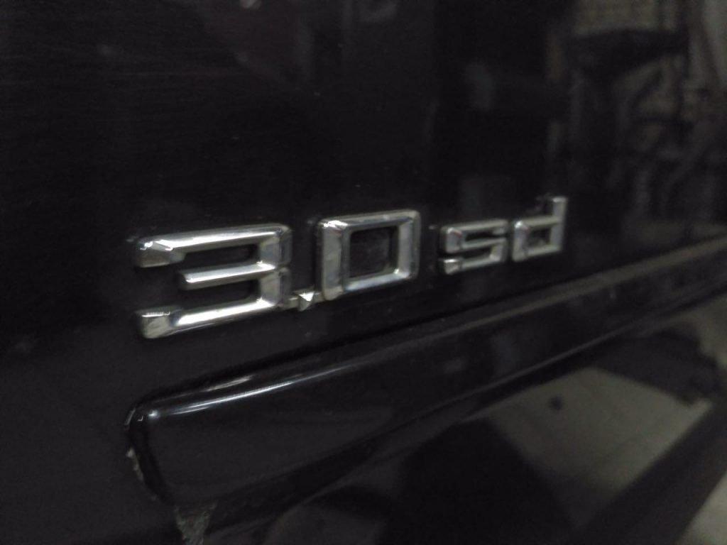 Отключение сажевого фильтра BMW X5 e70 3.0 sd 2008