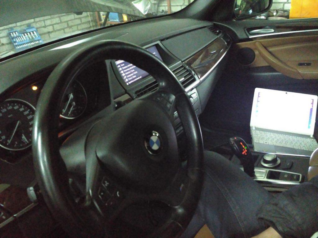 Заглушить и отключить клапан ЕГР BMW X5 e70 3.0 sd 2008