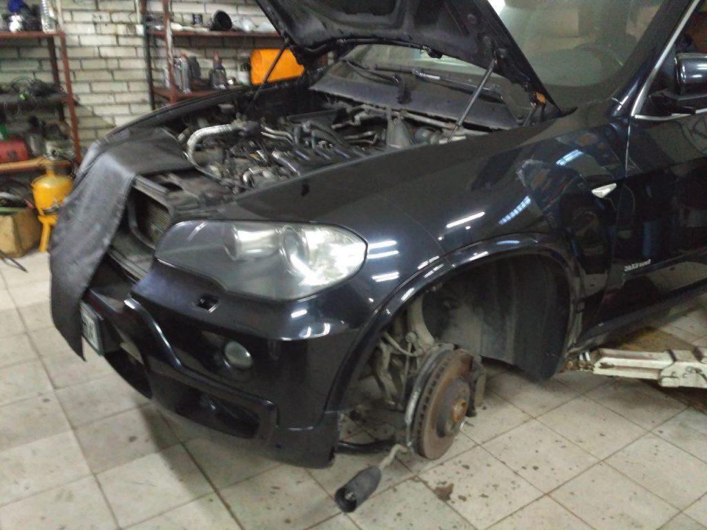Отключить сажевый фиьтр, заглушить клапан ЕГР и удалить катализатор BMW X5 e70 3.0 sd 2008
