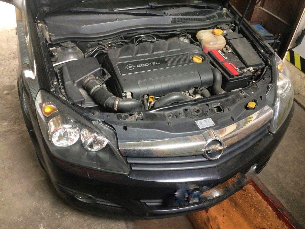 Отключение и удаление сажевого фильтра Opel Astra 1.9 CDTI 2006