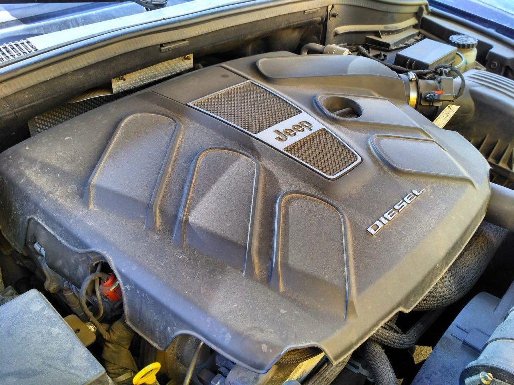 Отключить сажевый и ЕГР на Jeep Grand Cherokee 3.0 CRD 2014