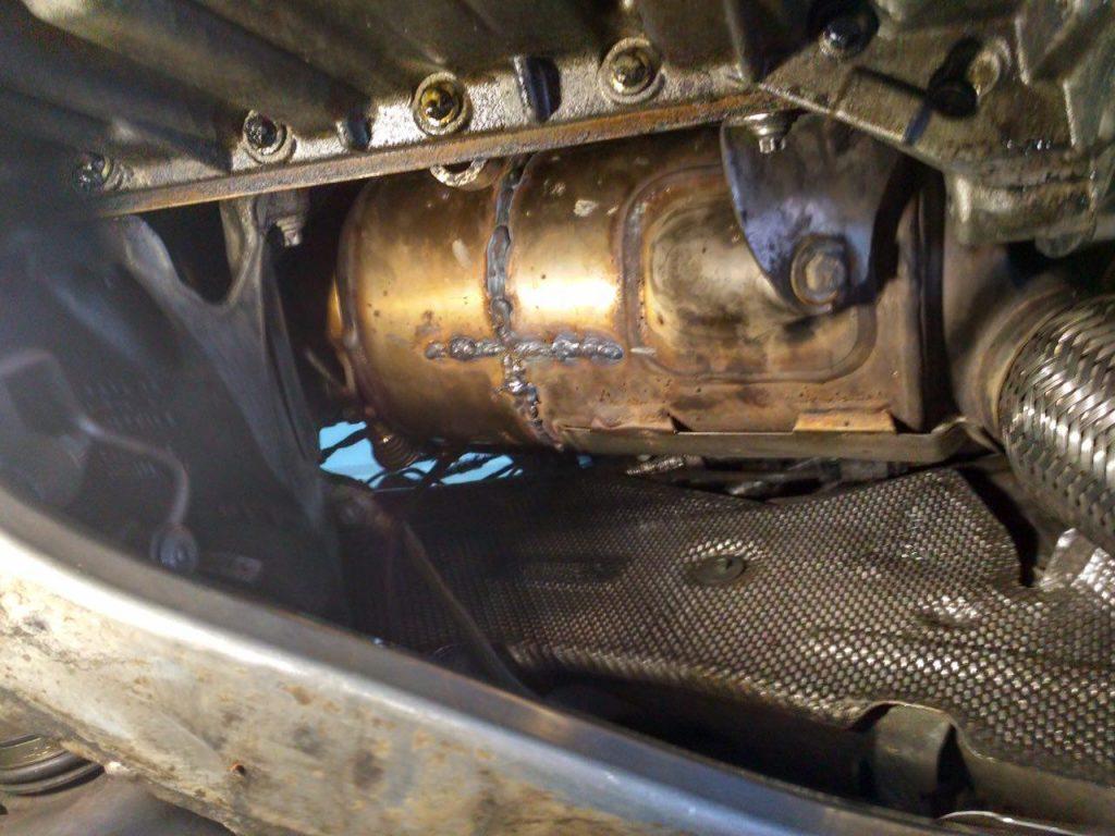 Peugeot 607 2.7 HDI 2005 удаление сажевого фильтра