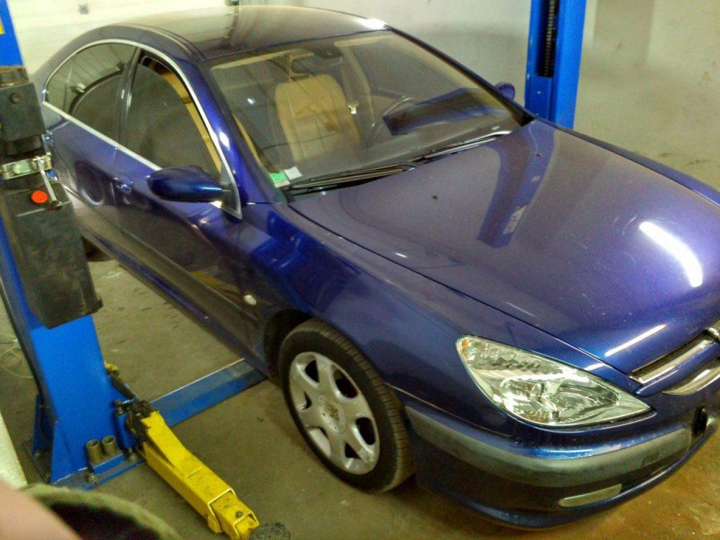 Отключить сажевый фильтр на Peugeot 607 2.7 HDI 2005
