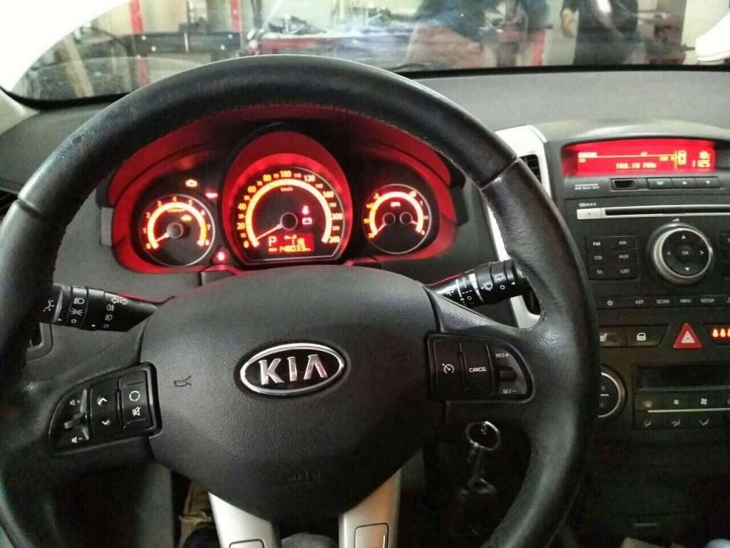 Kia Ceed 1.6 2010 отключение катов