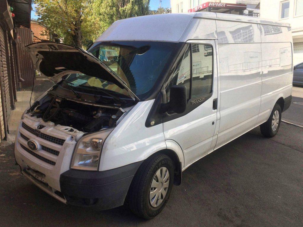 Удалить сажевый фильтр, отключить сажевый, заглушить клапан ЕГР и отключить на Ford Transit 2.2 TDCI 2012