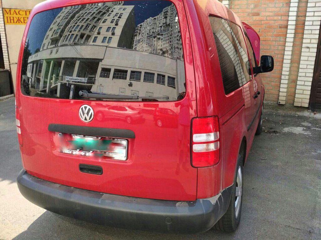 Удалить сажевый фильтр на Volkswagen Caddy 1.6 TDI
